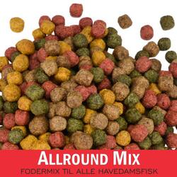 Allround Mix - 4 typer foder i et mix ( 3mm ) 15kg