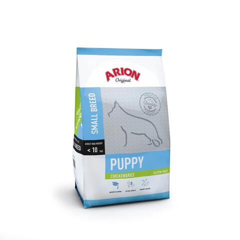 Puppy Small Breed – Kylling & Ris 7,5kg