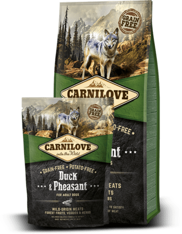 CarniLove Duck & Pheasant for adult 1,5kg KORNFRI