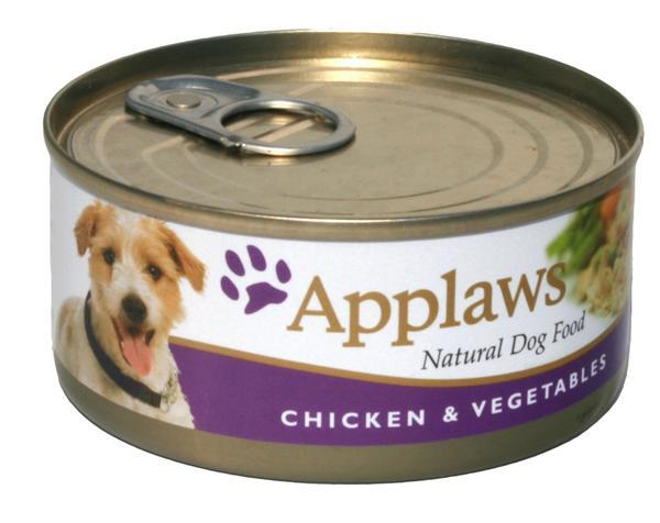 156g Dog Chicken & Vegetables Applaws