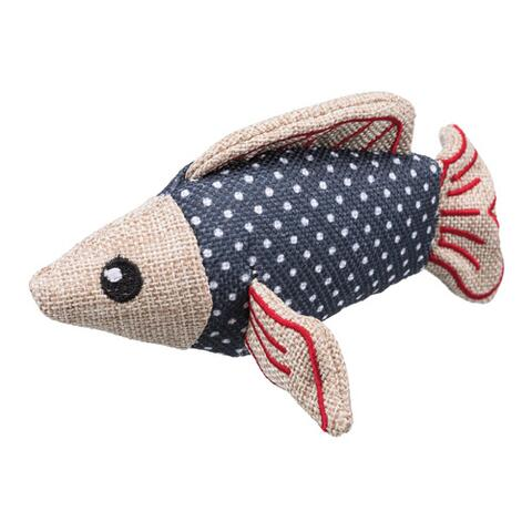 Fish, polyester/cotton, 14 cm