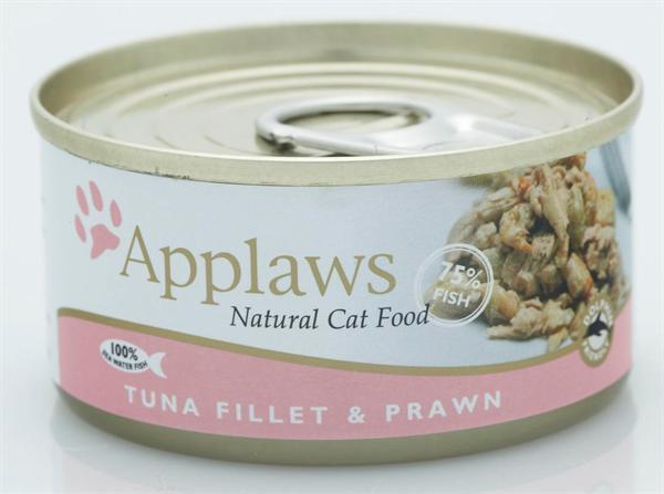 Applaws 70g Cat Tuna & Prawn