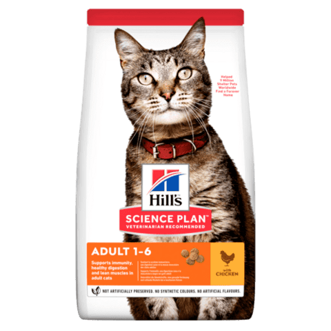 Science Plan™ Feline Adult Chicken 1,5kg