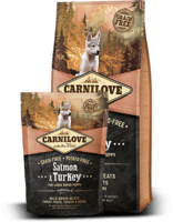 Salmon & Turkey for Large Breed puppies 1,5kg KORNFRI