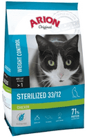 Arion Original Cat Sterilized Chicken 7,5 kg.