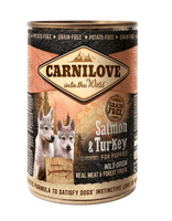 Carnilove Canned Salmon & Turkey Puppies 400g (Udsolgt)