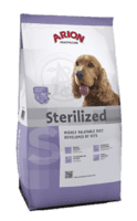 ARION Health & Care Sterilized Hundefoder 3kg