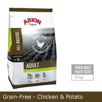 Grain-Free - Chicken & Potato hundefoder 12kg