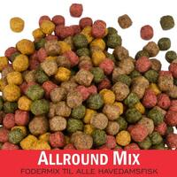 Allround Mix - 4 typer foder i et mix ( 6mm ) 15kg