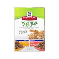 Hill's Science Plan Adult 7+ Youthful Vitality 12 x 85 gr